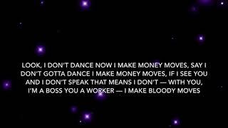 Bodak Yellow (clean) Lyrics - Cardi B.