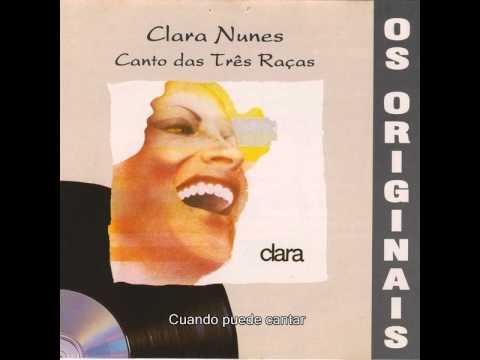 Clara Nunes - Canto Das Três Raças (Subtitulado)