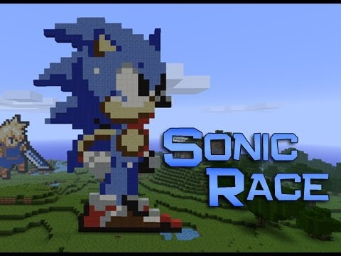 Minecraft: Sonic The Hedgehog Race - I QUIT! TOO MUCH PRESSURE :P