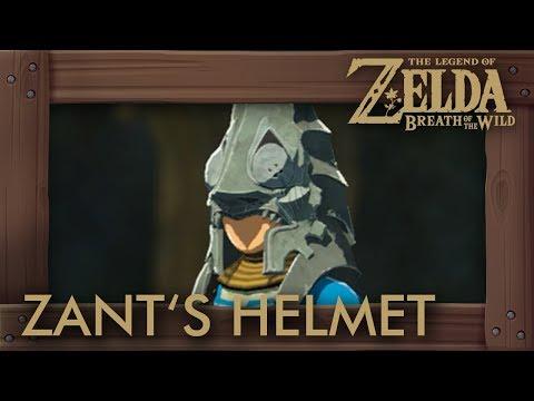 Zelda Breath of the Wild - Zant's Helmet Location
