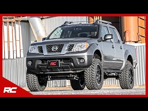 2017 Nissan Frontier Rough Country Off-Road Edition (Gray) Vehicle Profile