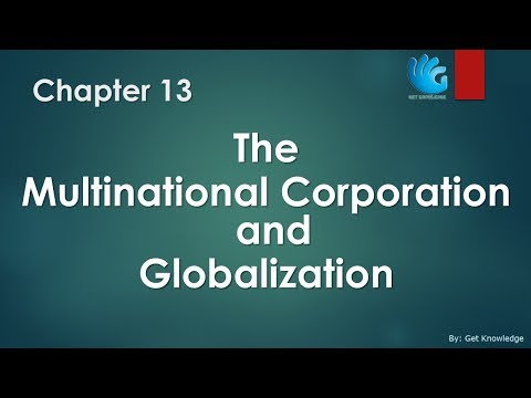 Multinational Corporation and Globalization - Chapter 13 | Managerial Economics