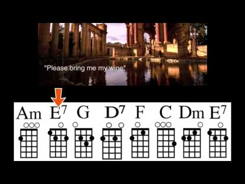 Hotel California with Chord Guide