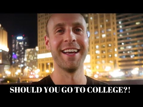 Should You Go To College?! 3 Pros and 3 Cons to College Education!