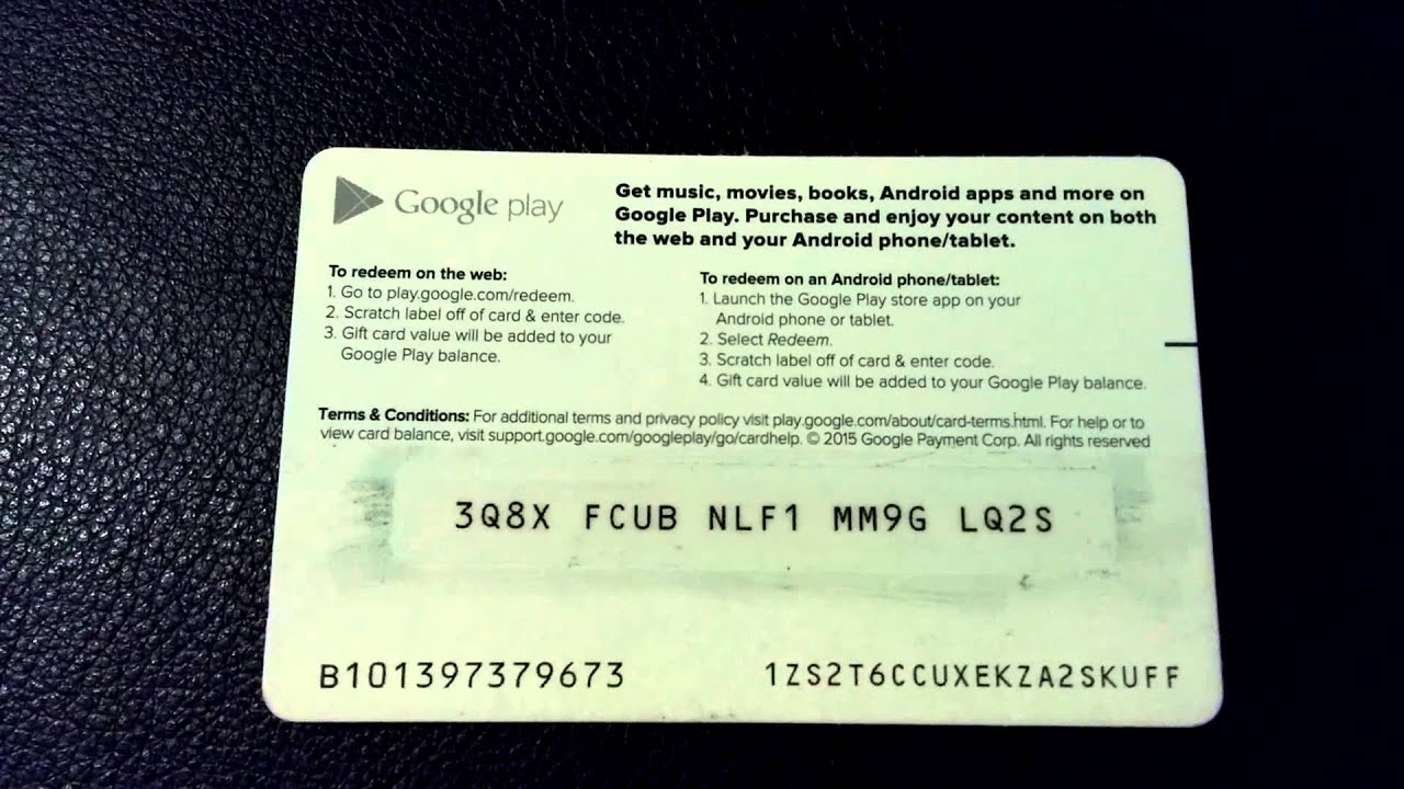 redeem google play gift card free google play gift card redeem code lamoureph blog 3389