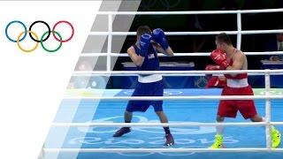 The USA's Hernandez takes bronze in Men's Light Fly -49kg Boxing