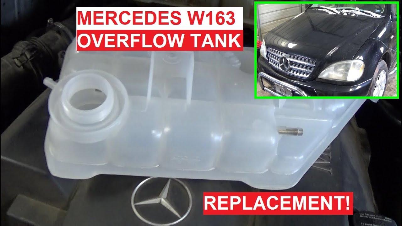 Tank mercedes benz coolant tank cap mercedes benz coolant recovery - Coolant Overflow Tank Replacement Mercedes W163 Ml230 Ml270 Ml320 Ml350 Ml400 Ml430 Ml500 Youtube