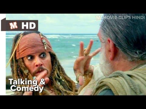 Pirates Of The Caribbean 4 Hindi On Stranger Tides Talking Scene