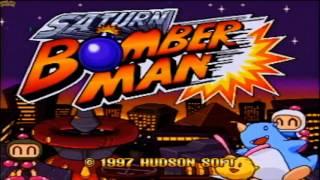 SATURN BOMBERMAN - 5 PLAYERS -WIDESCREEN