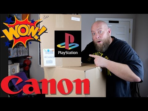 I bought a $2112 Amazon Customer Return ELECTRONICS Pallet + EXPENSIVE CAMERA & PLAYSTATION CONSOLE