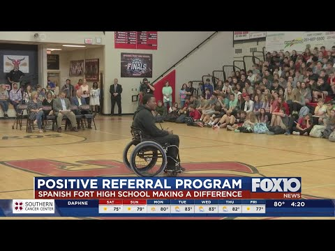 Positive Referral Program at Spanish Fort High School