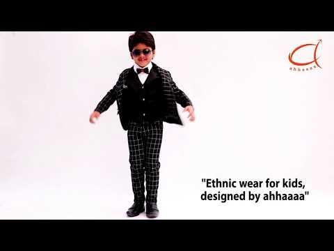 d825400f7b5 ahhaaaa Kids Party Wear 5 Pc Boys Formal Suit