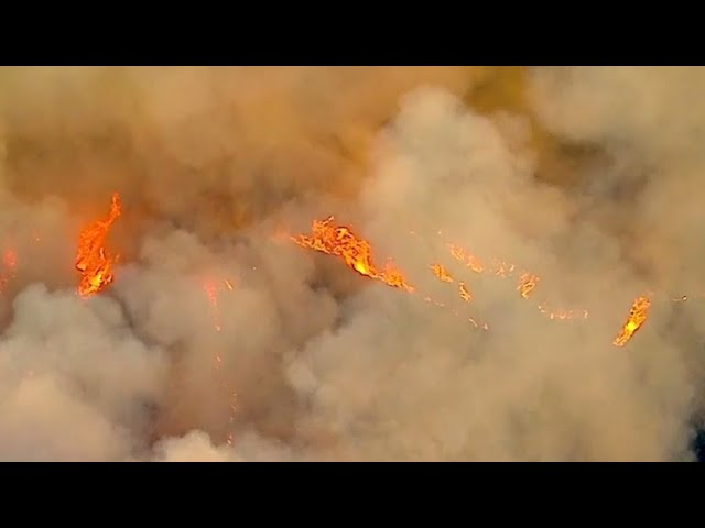 Arrest made in California wildfires as smoke now covers three quarters of state