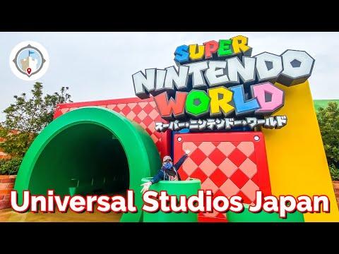 First Visit to Super Nintendo World at Universal Studios Japan (Spoilers) | Mario Kart & Food
