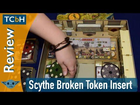 Scythe Broken Token Organizer (Custom Insert) Review