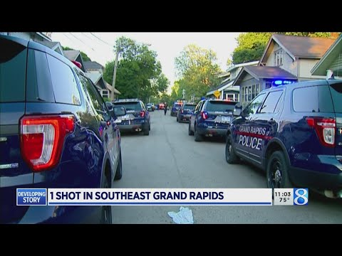 Police: Man, 18, Shot And Wounded In Grand Rapids