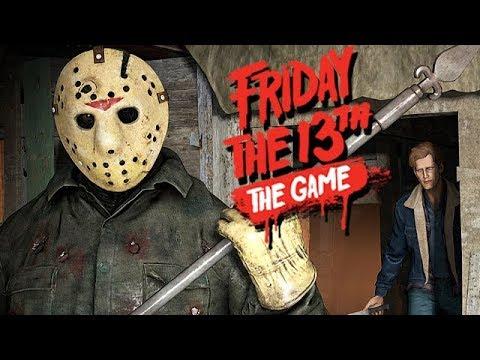 Friday The 13th The Game Gameplay German - Kreis redet über seine Oma