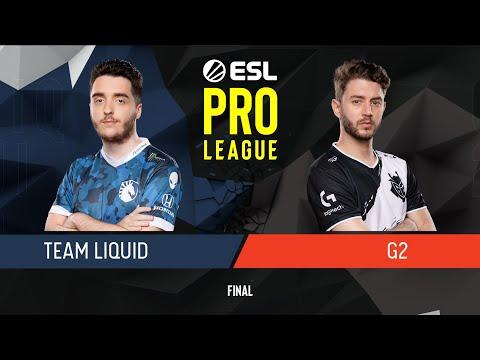 CS:GO - G2 Esports Vs. Team Liquid [Overpass] Map 2 - Final - ESL Pro League Season 9