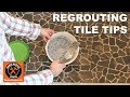 Regrout Shower Floor Tile (Quick Tips)