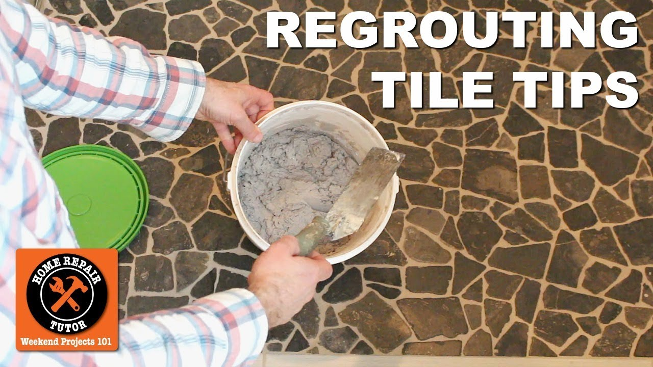 Regrout Shower Floor Tile (Quick Tips)