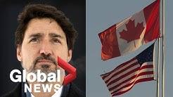 Coronavirus outbreak: Canada-U.S. border closure extended by 30 days amid COVID-19 pandemic   FULL