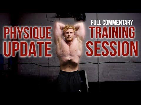 Physique Update | Classic Bodybuilding Training | Full Upper Body Commentary  | Golden Era