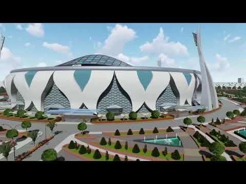 International Cricket Stadium Thesis I Karnataka, Bangalore