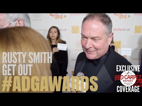 Rusty Smith, Production Designer, Get Out interviewed at the 22nd Annual ADG Awards #ADGAwards