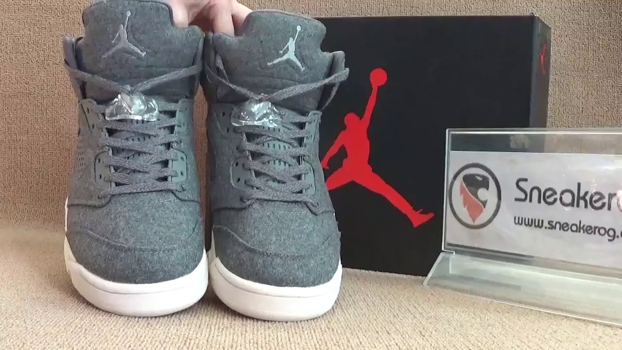 8e30ffb8e9a6 Authentic Air jordan 5 Wool video review from sneakerog.cn - YouTube