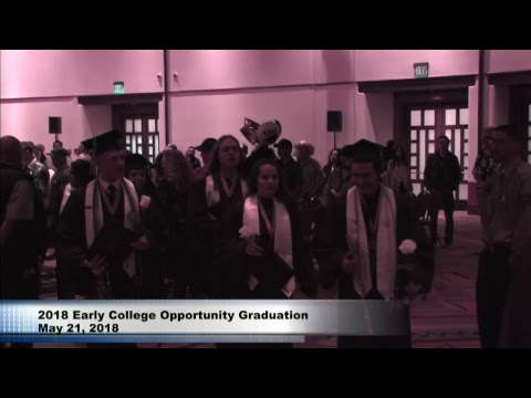 2018 Early College Opportunities Graduation