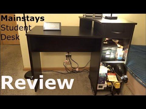 Ordinaire Mainstays Student Desk Review   Walmartu0027s Best Selling Desk   YouTube