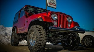 1977 Jeep CJ7 Restoration by Miller Brothers Auto Repair