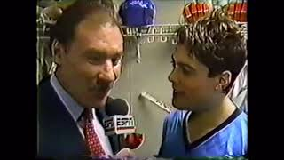 1988 Pat LaFontaine Interview NHL on ESPN 80's