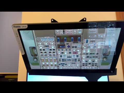 PROS AND CONS Of A Touch Screen Cockpit For Flight Simulation (fs 2004)