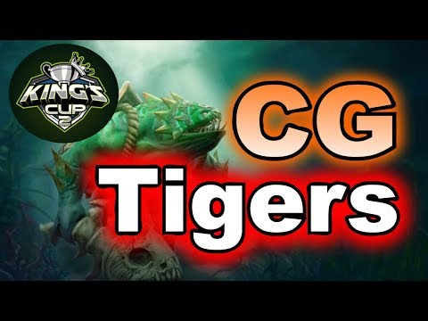 Tigers vs CG Hard Game Kings CUP SEA Group Stage
