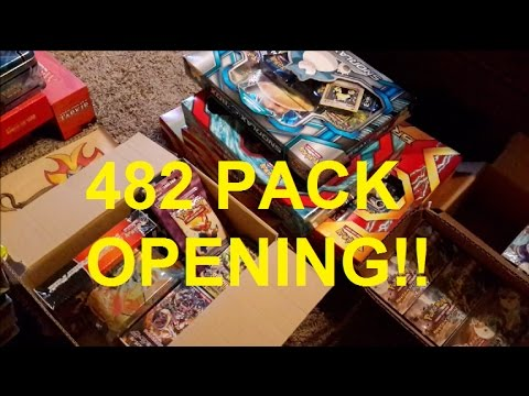 482 PACK OPENING! CRAZY PULLS! - HORDE #4