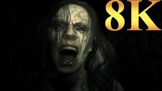 Resident Evil 7 Biohazard 8K Gameplay Titan X Pascal 3 Way SLI PC Gaming 4K   5K   8K and Beyond