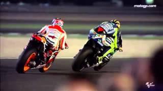 Valentino Rossi et Marc Marquez