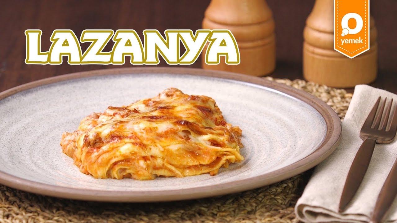 Lazanya Yapılışı Videosu