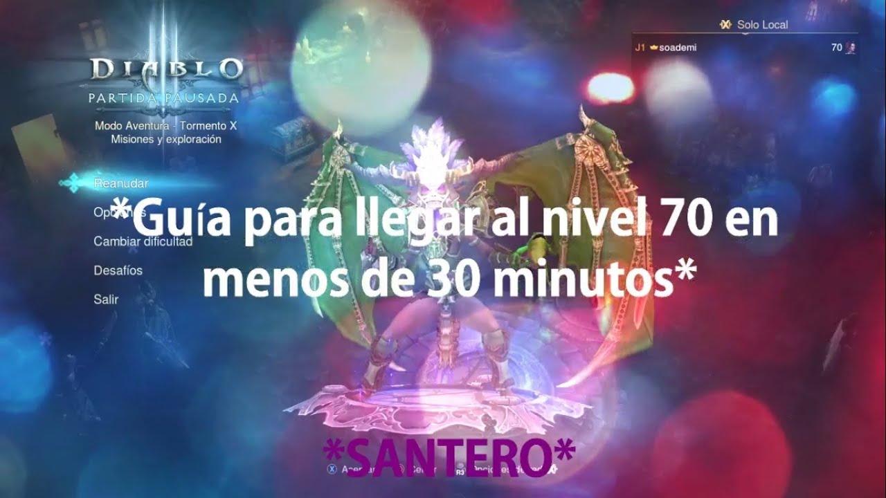 Diablo III: Guía para subir a nivel 70 en solitario en menos de 30 ...
