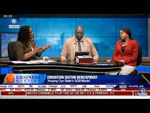 X-raying Oyo State's Education Model on Business Morning, Channels TV