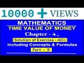 Solution of Exercise - 4(C) | Part - 5 Time Value Of Money | CA Foundation Mathematics