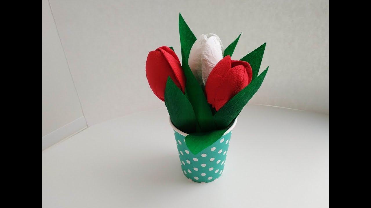 Цветы своими руками из бумаги в детском саду как сделать