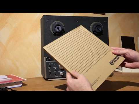 Let's Talk: Analog Reel-to-Reel, Revox B77