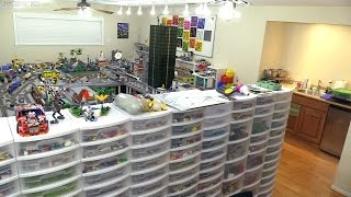 Baixar Complete LEGO Room Tour! Behind the scenes