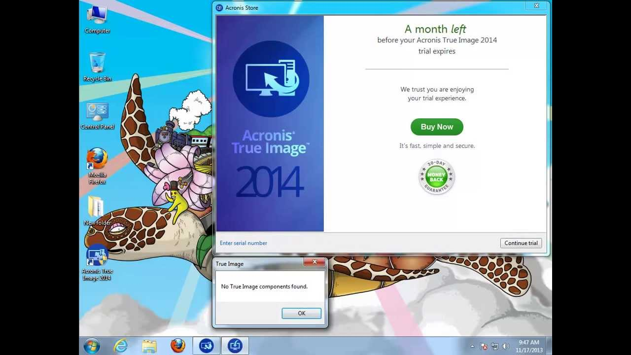 How to Uninstall Acronis True Image 2014 v17 - YouTube