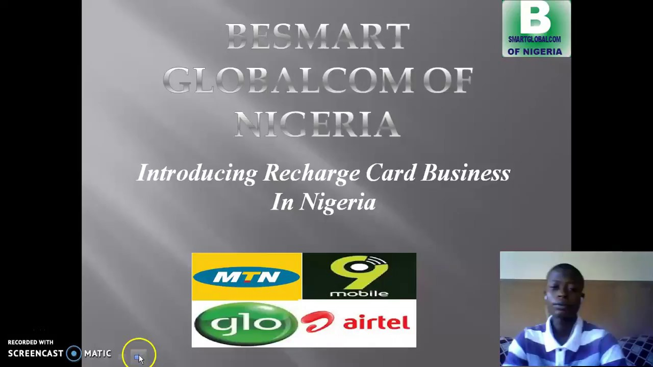 HOW TO START PRINTING RECHARGE CARD IN NIGERIA - YouTube