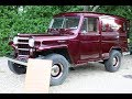 1956 Willys 4x4 Sedan Delivery For Sale~Body Off Restoration~Absolutely Fantastic!!