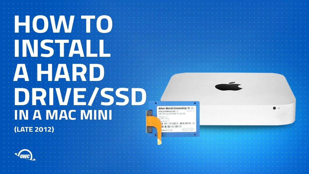 Add a second drive to your MacBook, MacBook Pro or Mac mini.