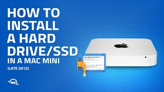 Mac mini Late 2012 Data Doubler 2nd Hard Drive/SSD Installation Video